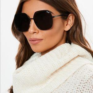 Quay Australia Undercover Black Sunglasses